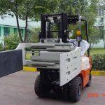 China Hydraulische efficiënte vorkheftruck bijlagen Multi Purpose Clamp