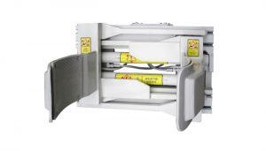 Forklfit-bevestiging Staal Wit 55 gallon heftruck Drumklem