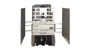 Heftruckbevestiging Kartonklem Klasse 3 & 1220 * 1420 mm Armmaat