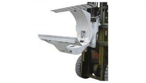 3 ton diesel vorkheftruck met bevestiging van papierrolklemmen