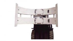 Laden en lossen Apparatuur 2ton TB-serie rollenpallettruck handmatige palletstapelaar Papierrolklemmap