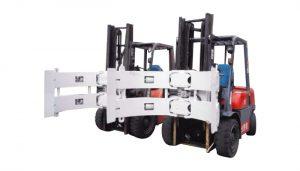Heftruckonderdelen Heftruck aanbouwdelen Stalen rotator Papierrolklem