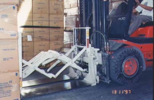 Heftruck Push Pull-bevestiging Gebruik in de apparaatindustrie